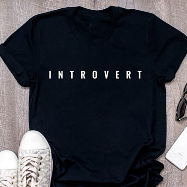 Unisex Introvert Tshirt - RE Apparel