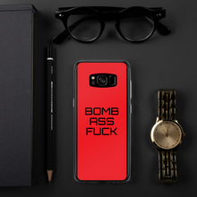 Load image into Gallery viewer, BOMB-AF LUXURY Samsung Phone Case