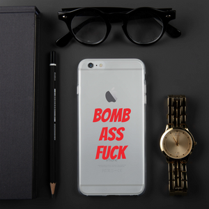 BOMB-AF LUXURY iPhone Case