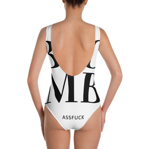 BOMB-AF One-Piece Swimsuit