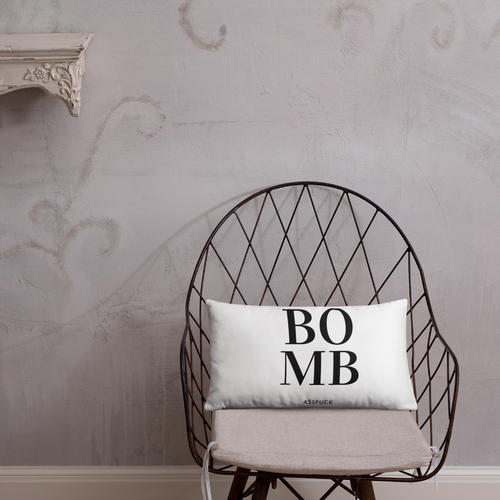 BOMB-AF ACCENT/THROW PILLOW