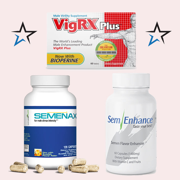 VigRx Plus with Semenax and SemEnhance Combo - Natural Health Store
