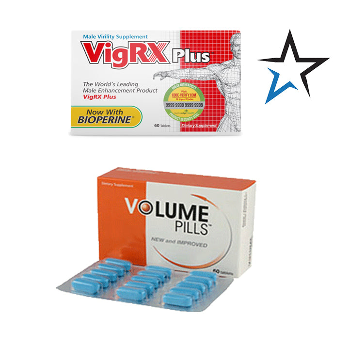 VigRx Plus and Volume Pills Combo - Natural Health Store