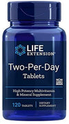 Life Extension Two Per Day Multivitamins  120 Tablets - Natural Health Store