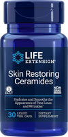Life Extension Skin Restoring Ceramides, 30 Liquid Vegetarian Capsules (Packaging may vary) - NaturalHealthStore.com