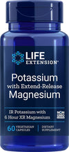 Life Extension Potassium with Extend-Release Magnesium, 60 Count - NaturalHealthStore.com