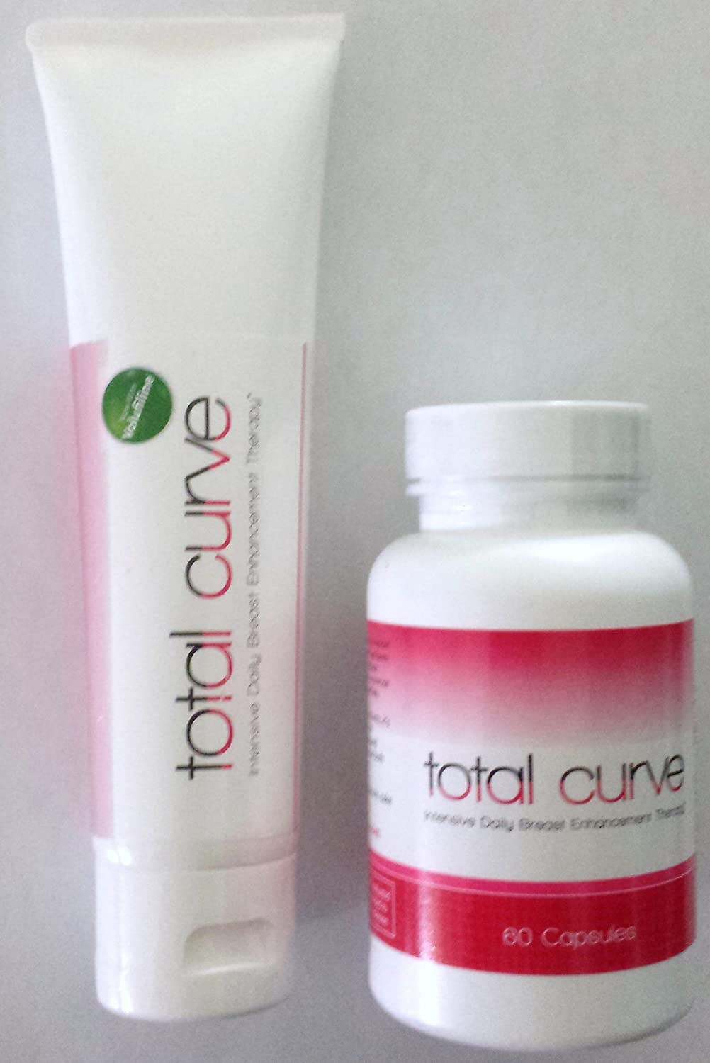 Total Curve Breast Enhancement Therapy Cream & Bust Pills - Accudata Marketing Group, LLC