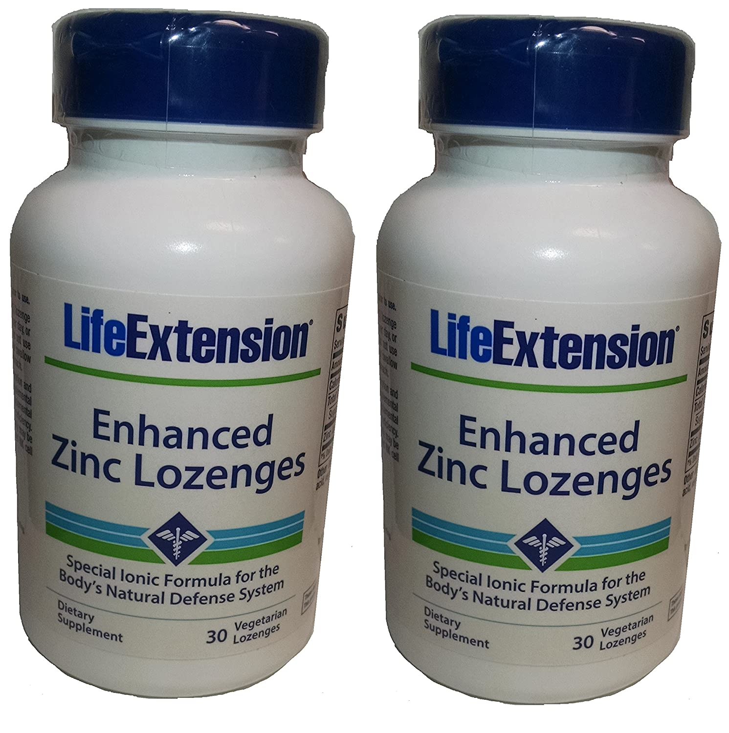 Life Extension Enhanced Zinc 30 Vegetarian Lozenges (2 Pack) - Accudata Marketing Group, LLC