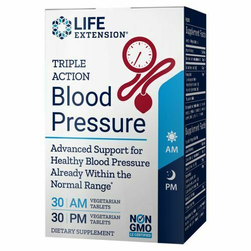 Triple Action Blood Pressure by Life Extension - Natural Health Store