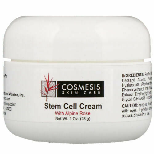 Cosmesis Stem Cell Cream with Alpine Rose by Life Extension - Natural Health Store