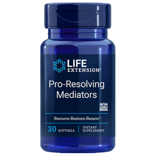 Pro-Resolving Mediators by Life Extension - Natural Health Store