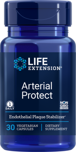 Life Extension Arterial Protect 30 Vegetarian Capsules - Natural Health Store