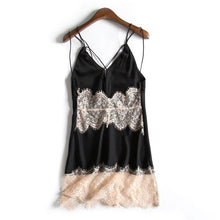 Load image into Gallery viewer, Anita Twelve Loose-fit Satin Designer Lace Nightgown