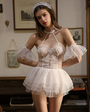 Load image into Gallery viewer, Honeymoon Bridal Semi-hollow Babydoll