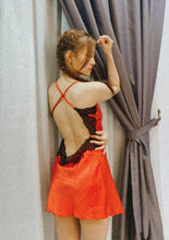 Load image into Gallery viewer, Chile X-Cross Open Back Dress (RED)