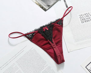 Envy Red Wine Thong