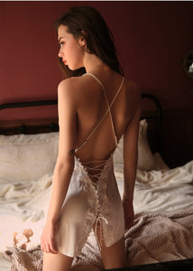 Mykonos Style Petal Back String Attached Chemise