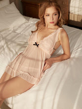 Load image into Gallery viewer, Ruffle Blossom Babydoll - Pink