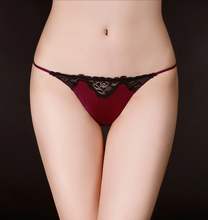 Load image into Gallery viewer, Envy Red Wine Thong