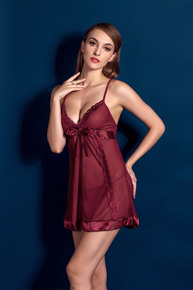 Molly Slender Babydoll - Red