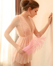 Load image into Gallery viewer, Invisible Romance Babydoll (Pink)