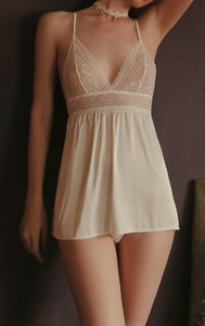 White Moon Nightie Babydoll