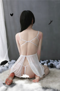 Romancing After Night White Babydoll