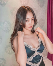 Load image into Gallery viewer, Sakura Ice Silk Lace Babydoll