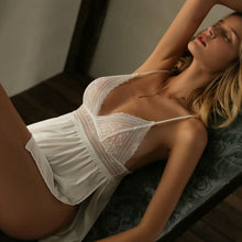Load image into Gallery viewer, White Moon Nightie Babydoll