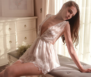 Newlywed December Bridal Style Babydoll