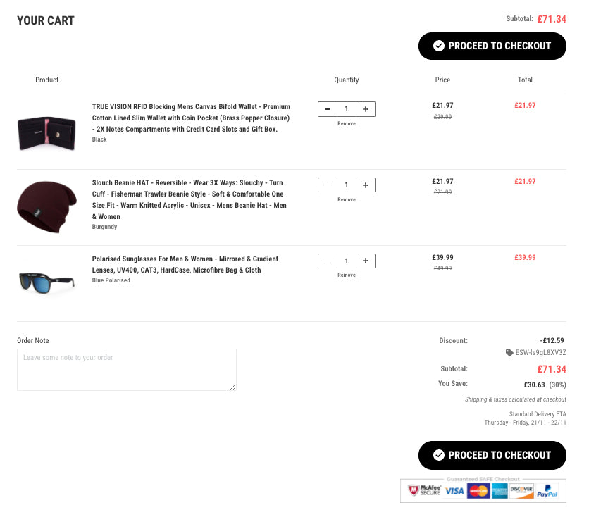 ONE TRUE THREE - BUY MORE SAVE MORE TRUE VISION BRAND DEALS - MIX AND MATCH IN CART IMAGE