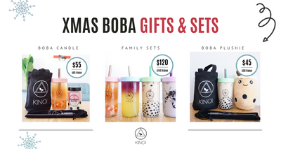 Introducing: XMAS Boba Collection 2020