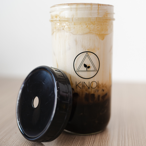 CLASSIC BLACK Bubble Tea Replacement Large Cup (Seconds) (700ml/24oz)
