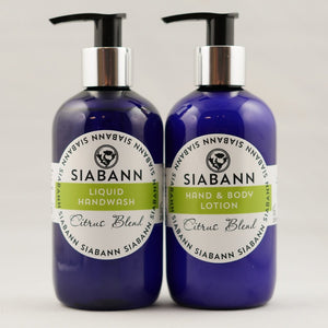 Siabann Organic Citrus Blend Hand & Body Lotion