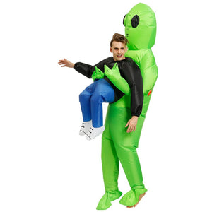 Alien Abduction Inflatable Costume for Halloween