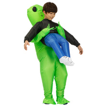 Load image into Gallery viewer, Alien Abduction Inflatable Costume for Halloween