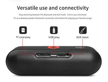 Load image into Gallery viewer, Portable Bluetooth Speaker with Dual Driver Loudspeaker