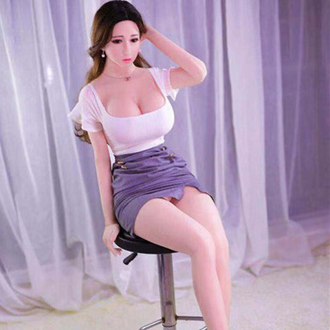 Big breast solid doll 100cm | Silicone real adult sex doll