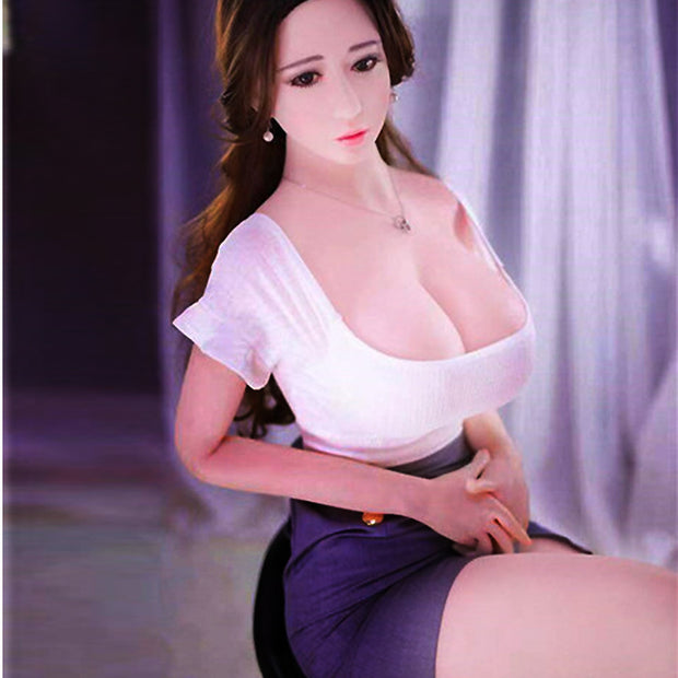 Big breast solid doll 100cm | Silicone real adult sex doll - BULULU-SHOP (4376006623276)