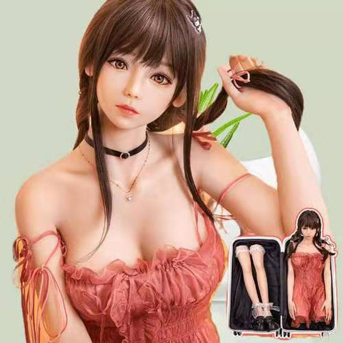 Two-dimensional simulation person anime beauty doll | Sex Doll realistic Love Doll  with Skeleton  Lifelike 110cm
