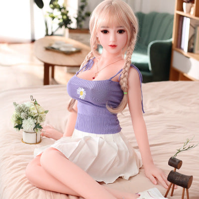 2021 new Japanese Realistic Sexy Doll 125cmReal Silicone Sex Dolls | Top Skeleton Adult Love Doll Vagina Lifelike Pussy