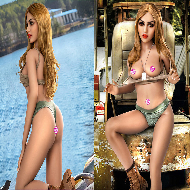 Ai Smart Dialogue Silicone Sex Doll | Metal Skeleton Male Masturbation Automatic Lubrication Vagina Briana