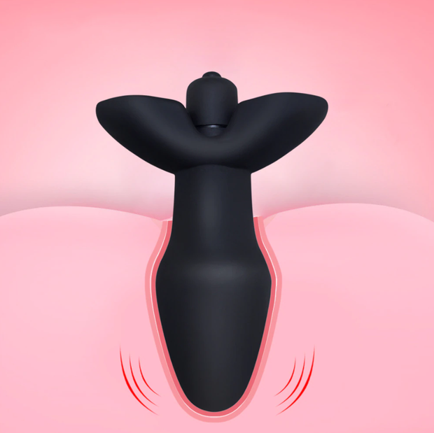Butt Plug Sex Products for Adult | 10 Speeds Vibrator Anal Plug - BULULU-SHOP