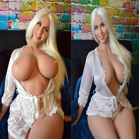 Sex doll 163CM H-CUP | skeleton adult male with big chest big ass