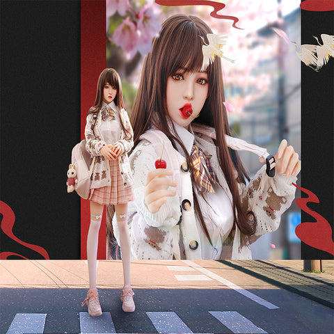 Japanese Beauty S-Class Makeup Sexual Doll | Metal Frame Natural TPE Material Ai Lei 168cm