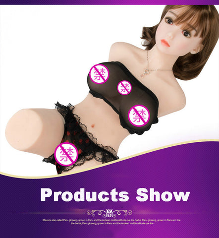 Half body sex doll | Top Skeleton Real Silicone Sex Dolls 80cm