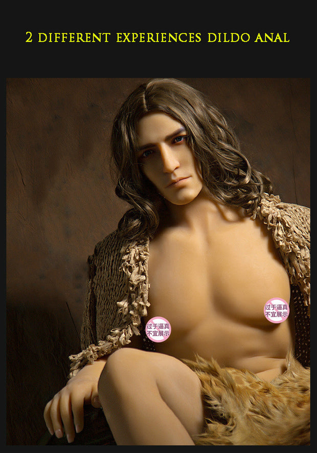Newest Silicone Men Sex Doll With Huge Penis | Male And Female Adult Sex Dols 170-175cm - BULULU-SHOP (5278630543528)