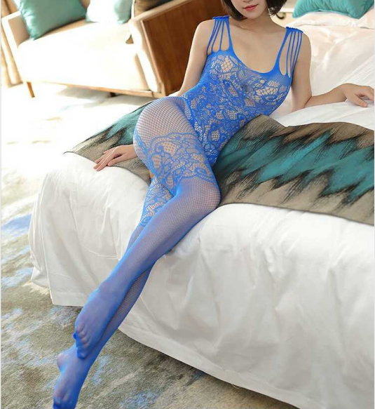 Sexy Lingerie/ Body stockings | Fishnet/ Open file/ Hollow/ Lace/ Bandage - BULULU-SHOP