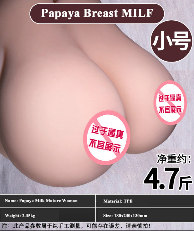 Double breast clip Yin breast inverted mold | Artificial breasts Adult sex toys Male masturbation device - BULULU-SHOP (4344157667372)