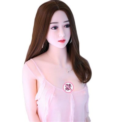 Semi-solid inflatable doll beauty long hair big boobs masturbator | silicone doll for men - BULULU-SHOP